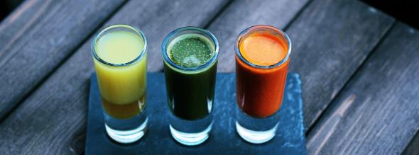 succhi verdi per fluidificare il sangue